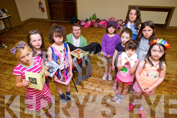 Having fun at the Frozen Summer Camp in the Clubrooms, Castlegregory last week were: Lilly Hennessy, Alanah Whelan, Ciara Butler, Kayla Chambers, Sadbh Haney, Lucy Finn, Keelin Sinnott, Beatrice Dowling and Caoimhe Cawley.