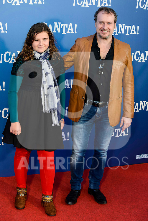 "Fernando Cayo attends to the premiere of the film ""¡Canta!"" at Cines Capitol in Madrid, Spain. December 18, 2016. (ALTERPHOTOS/BorjaB.Hojas)"