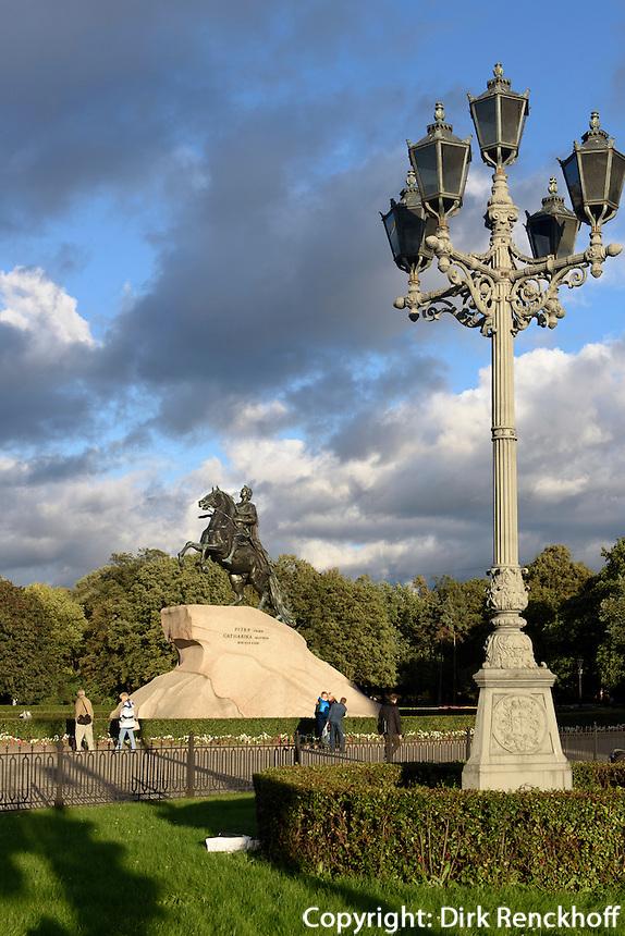 Eherner Reiter, St. Petersburg, Russland, UNESCO-Weltkulturerbe