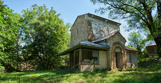 Archangel Georgian Orthodox Church Georgian style exterior, Krikhi, Georgia