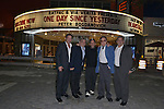 CORAL GABLES, FL - FEBRUARY 28: Victor Barroso, Fernando Zulueta, Producer / Director Brett Ratner, actor / director Peter Bogdanovich and Ignacio Zulueta attend the Miami Premiere of RatPac Documentary Films One Day Since Yesterday: Peter Bogdanovich and the Lost American Film' followed by Q&A at Miracle Theater inside the Actors Playhouse on February 28, 2017 in Coral Gables, Florida. ( Photo by Johnny Louis / jlnphotography.com )