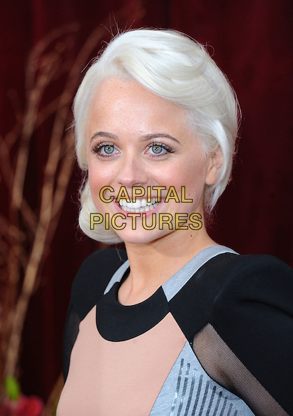 CHARLIE CLEMMOW.The British Soap Awards 2010, London Television Centre, London, England..8th May 2010.arrivals headshot portrait black pink silver .CAP/BEL.©Tom Belcher/Capital Pictures.