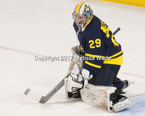 Craig Pantano (Merrimack - 29) - The visiting Merrimack College Warriors defeated the Boston College Eagles 6 - 3 (EN) on Friday, February 10, 2017, at Kelley Rink in Conte Forum in Chestnut Hill, Massachusetts.