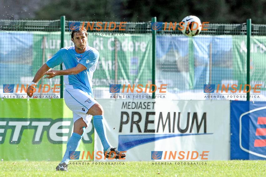 Lorik Cana Lazio.Auronzo di Cadore 21/7/2012.Football Calcio 2012 / 2013 .Amichevole Friendly Match.SS Lazio Vs AC Montebelluna.Foto Insidefoto.