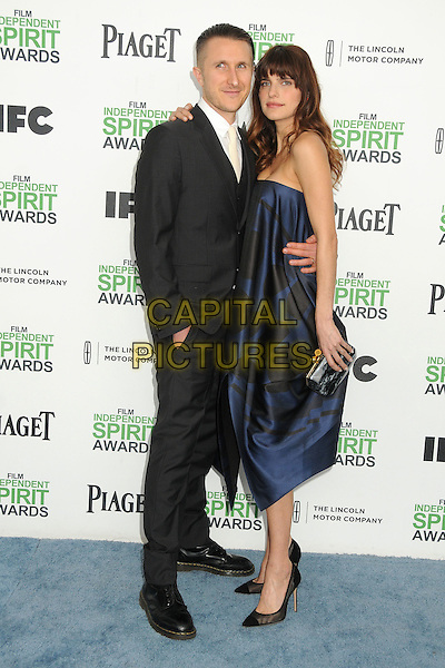 1 March 2014 - Santa Monica, California - Scott Campbell, Lake Bell. 2014 Film Independent Spirit Awards - Arrivals held at Santa Monica Beach. <br /> CAP/ADM/BP<br /> &copy;Byron Purvis/AdMedia/Capital Pictures