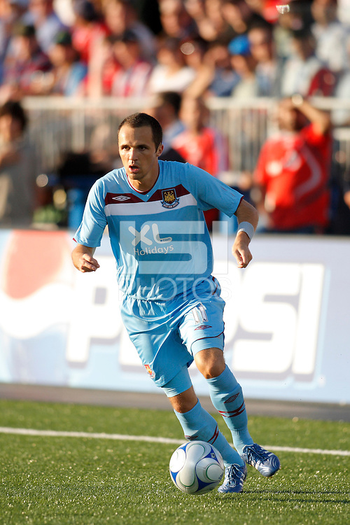 West Ham United midfielder Matthew Etherington (11). The MLS All-Stars defeated West Ham United 3-2 during the MLS All-Star Game at BMO Field in Toronto, Ontario, Canada, on July 24, 2008.