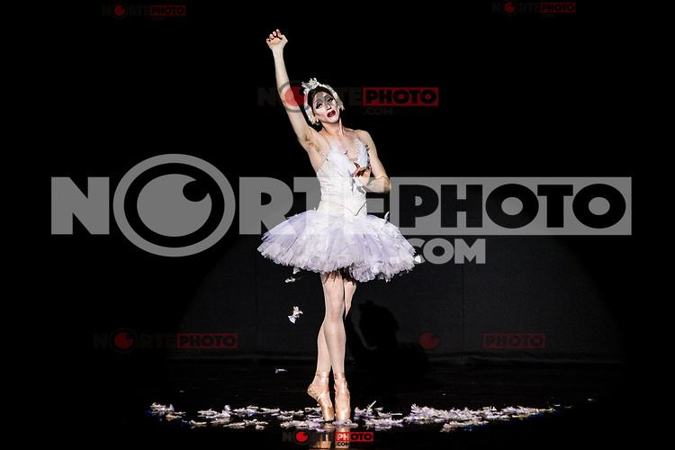 Les Ballets Trockadero de Monte Carlo at Canal theater in Madrid, Spain. March 29, 2017. (ALTERPHOTOS / Rodrigo Jimenez)