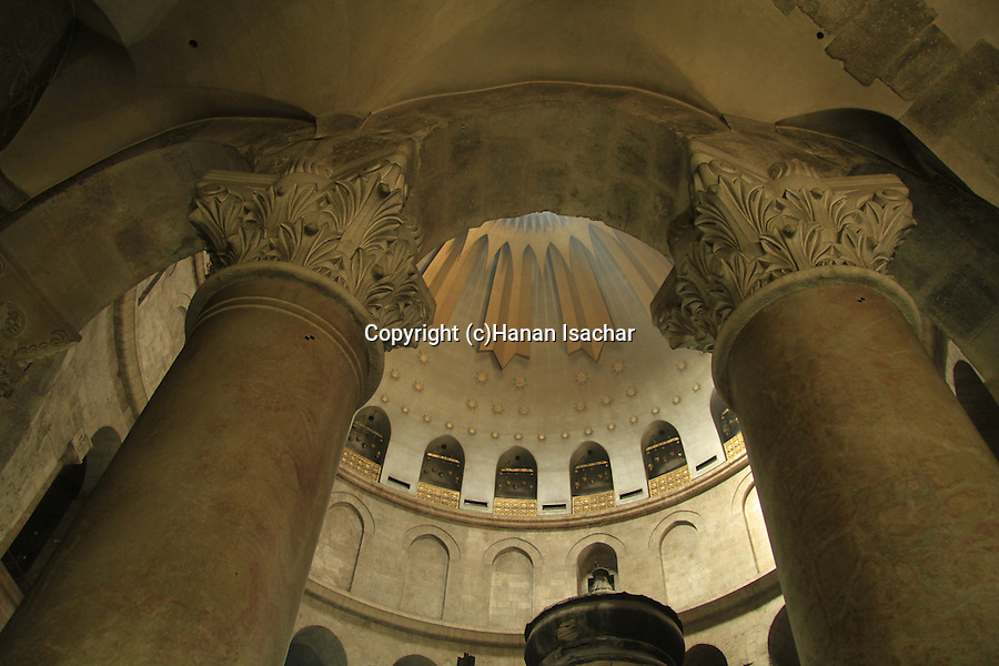Israel, Jerusalem, the Church of the Holy Sepulchre