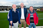 Pictured at the Tralee Dynamos Mass in the Low Field on Friday were Christy Leahy, Noel White, Chairman Tralee Dynamos and Joe Hennebury