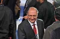 OSASCO, SP, 03 SETEMBRO DE 2012 – DEBATE REDETV – ATENÇÃO EDITOR: FOTO EMBARGADA PARA VEÍCULOS INTERNACIONAIS: Candidato a prefeitura de São Paulo Geraldo Alckmin durante debate realizado na noite desta segunda feira (03) pela RedeTV, na sede da emissora em Osasco. (FOTO: LEVI BIANCO / BRAZIL PHOTO PRESS).