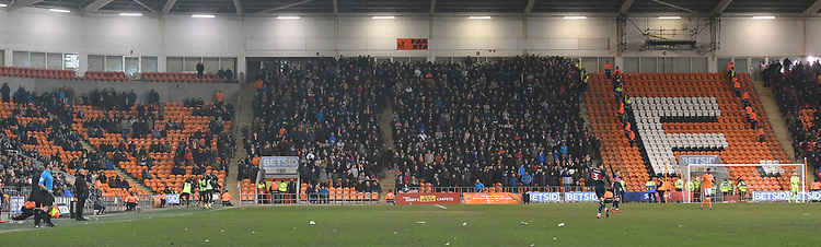 Great to see a busy stand again<br /> <br /> Photographer Dave Howarth/CameraSport<br /> <br /> The EFL Sky Bet League One - Blackpool v Doncaster Rovers - Tuesday 12th March 2019 - Bloomfield Road - Blackpool<br /> <br /> World Copyright © 2019 CameraSport. All rights reserved. 43 Linden Ave. Countesthorpe. Leicester. England. LE8 5PG - Tel: +44 (0) 116 277 4147 - admin@camerasport.com - www.camerasport.com