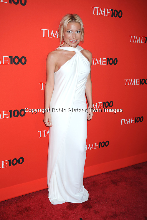 Tracy Anderson  posing for photographers at the Time Celebrates the Time100 Issue Gala on May 4, 2010 at The Time Warner Center in New York City. The magazine celebrates the 100 Most Influential People in the World.