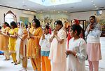 Service at Shri Surya Narayan Mandir in Jamaica Queens, NY on Sunday December 7, 2008.