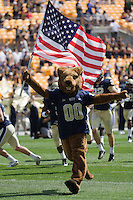 Pitt Panther. The Pitt Panthers beat the Maine Black Bears 35-29 at Heinz Field, Pittsburgh, PA on September 10, 2011.