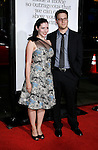 """HOLLYWOOD, CA. - October 20: Actor Seth Rogen and Lauren Miller arrive at the Los Angeles Premiere of """"Zack And Miri Make A Porno"""" at Grauman's Chinese Theater in Hollywood, California."""
