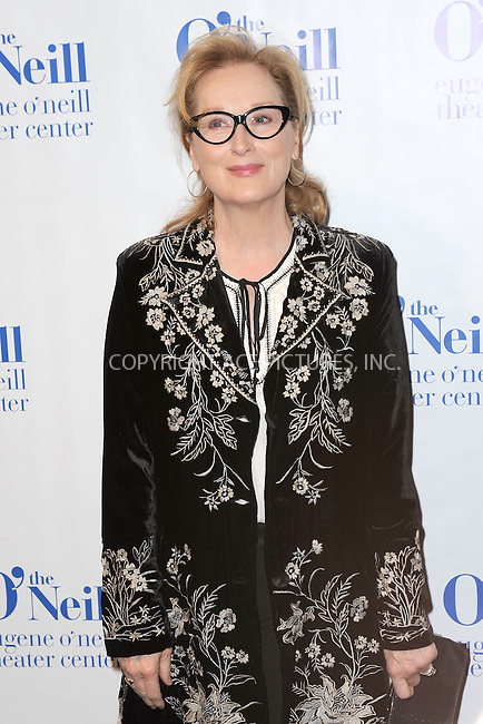 WWW.ACEPIXS.COM<br /> April 21, 2014 New York City<br /> <br /> Honoree actress Meryl Streep arriving at the Eugene O'Neill Theater Center event at the Edison Ballroom on April 21, 2014 in New York City.<br /> <br /> By Line: Kristin Callahan/ACE Pictures<br /> ACE Pictures, Inc.<br /> tel: 646 769 0430<br /> Email: info@acepixs.com<br /> www.acepixs.com