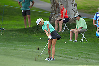 Michelle Wie hits her ball on the 9th fairway during Round 3 at the ANA Inspiration, Mission Hills Country Club, Rancho Mirage, Calafornia, USA. {03/31/2018}.<br />