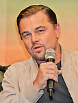"Actor Leonardo DiCaprio attends the press conference for ""Once upon a time in Hollywood"" at the Ritz-Carlton Tokyo in Tokyo, Japan on August 26, 2019. (Photo by AFLO)"