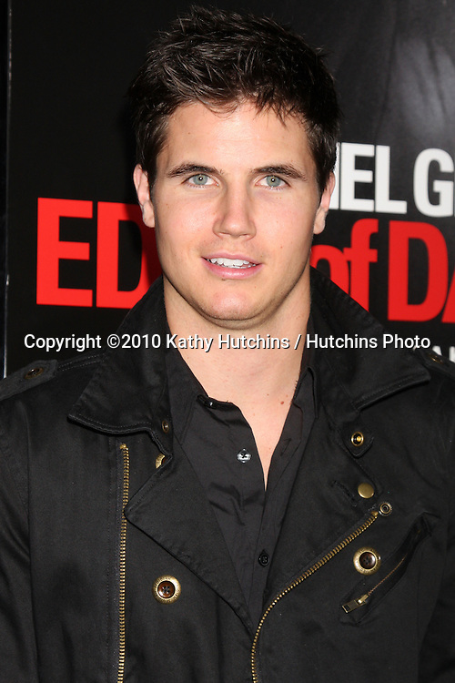 """Robbie Amell .arriving at the premiere of the """"Edge of Darkness"""".Grauman's Chinese Theater.Los Angeles, CA.January 26, 2010.©2010 Kathy Hutchins / Hutchins Photo...."""