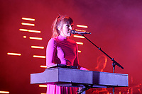 LONDON, ENGLAND - NOVEMBER 8: Josephine Vander Gucht of 'Oh Wonder' performing at Brixton Academy on November 8, 2017 in London, England.<br /> CAP/MPI04<br /> &copy;MPI04/Capital Pictures