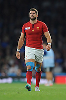 Sébastien Tillous-Borde of France during Match 5 of the Rugby World Cup 2015 between France and Italy - 19/09/2015 - Twickenham Stadium, London <br /> Mandatory Credit: Rob Munro/Stewart Communications