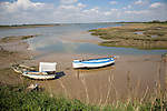 Shottisham Creek joins River Deben, Suffolk, England