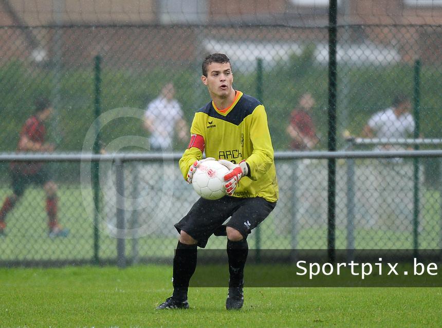 SV Loppem  : Nicolas Tant<br /> Foto VDB / Bart Vandenbroucke