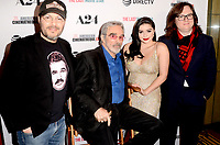 "LOS ANGELES - FEB 22:  Adam Rifkin, Burt Reynolds, Ariel Winter, Clark Duke at the ""The Last Movie Star"" Premiere at the Egyptian Theater on February 22, 2018 in Los Angeles, CA"