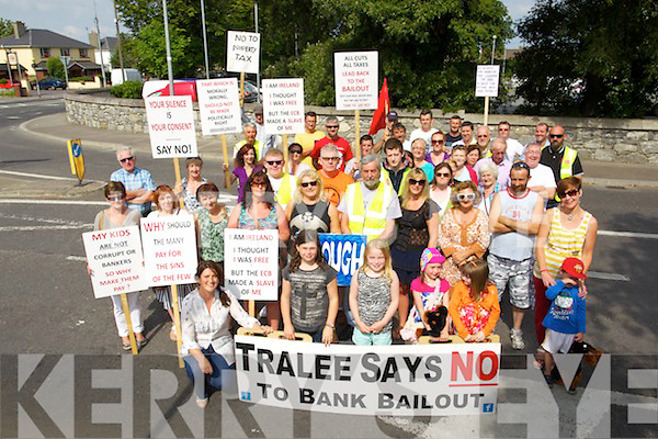 Bank bailout protest has been going on every Sunday morning at 11am for the last Six months.