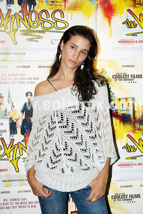 **ALL ROUND PICTURES FROM SOLARPIX.COM**.**WORLDWIDE SYNDICATION RIGHTS**.The Wackness Premiere at Curzon cinema, Soho, London. 20th August 2008..This pic: Elisa Lasowski..JOB REF: 7070 FRG     DATE: 21_08_2008.**MUST CREDIT SOLARPIX.COM OR DOUBLE FEE WILL BE CHARGED* *UNDER NO CIRCUMSTANCES IS THIS IMAGE TO BE REPRODUCED FOR ANY ONLINE EDITION WITHOUT PRIOR PERMISSION*