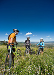 XXX mountain biking at Deer Valley Resort on Sunday, Aug. 29, 2010, in Park City, Utah. (© 2010 Douglas C. Pizac)