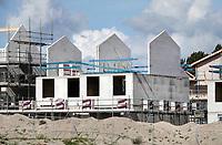 Nederland Almere  2018. Nieuwbouw in Almere. Project Duin.   Foto Berlinda van Dam / Hollandse Hoogte