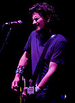 Singer-songwriter Matt Nathanson performs at the Balboa Beach Music Fest October 13, 2012.