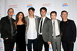 LOS ANGELES - DEC 3: Peter Paige, Maia Mitchell, Noah Centineo, David Lambert, Hayden Byerly, Bradley Bredeweg at The Actors Fund's Looking Ahead Awards at the Taglyan Complex on December 3, 2015 in Los Angeles, California