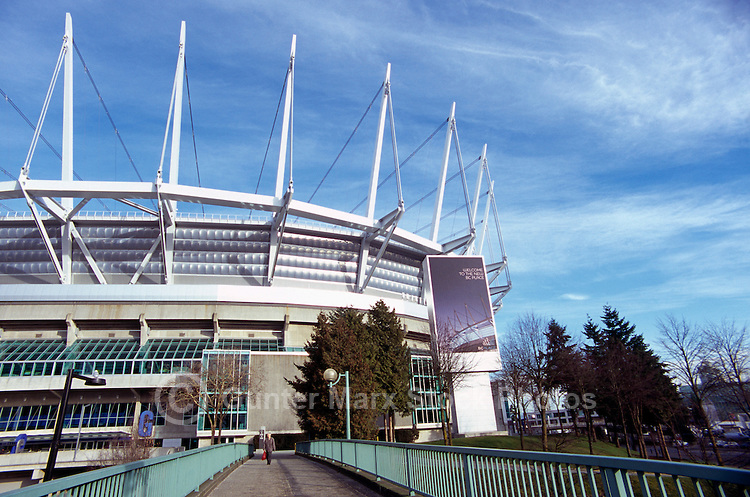 new B.C. Place - Stadium & Casino. at False Creek Downtown Vancouver, British-Columbia, Canada