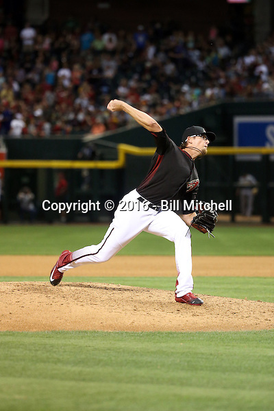 Tyler Clippard - 2016 Arizona Diamondbacks (Bill Mitchell)