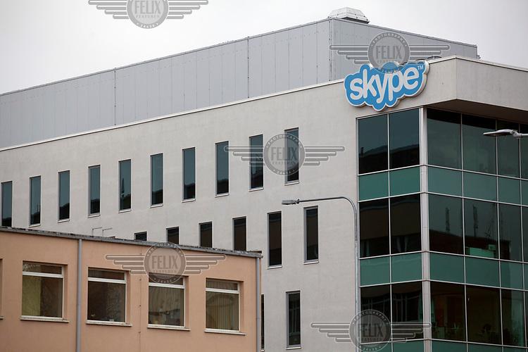 The Skype headquarters.