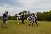 Xander Schauffele (USA) makes his way down 15 during Round 1 of the Valero Texas Open, AT&amp;T Oaks Course, TPC San Antonio, San Antonio, Texas, USA. 4/19/2018.<br /> Picture: Golffile | Ken Murray<br /> <br /> <br /> All photo usage must carry mandatory copyright credit (&copy; Golffile | Ken Murray)