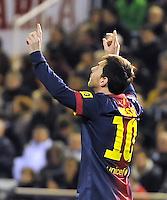 Valencia CF vs FC Barcelona 2012/2013