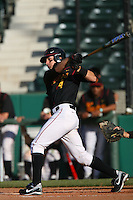 March 16 2009: Joe De Pinto of the USC Trojans during game against the Winthrop Eagles at Dedeaux Field in Los Angeles,CA.  Photo by Larry Goren/Four Seam Images