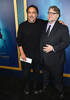 Alejandro Gonzalez Inarritu &amp; Guillermo del Toro  at the Los Angeles premiere of &quot;The Shape of Water&quot; at the Academy of Motion Picture Arts &amp; Sciences, Beverly Hills, USA 15 Nov. 2017<br /> Picture: Paul Smith/Featureflash/SilverHub 0208 004 5359 sales@silverhubmedia.com