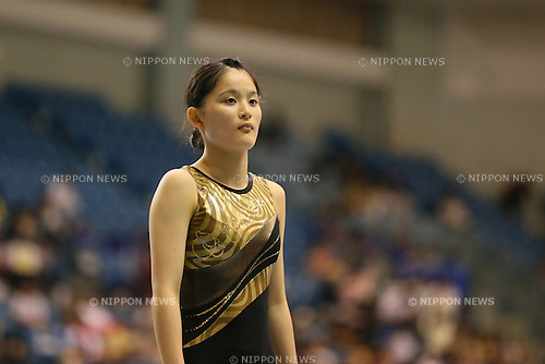 Rana Nakano, JULY 6, 2014 - Trampoline : The Japanese World Trampoline Championship Trials Womens final at Chiba Port Arena, Chiba, Japan. (Photo by Yohei Osada/AFLO SPORT)