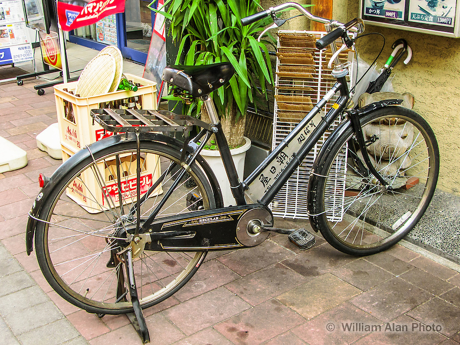 Regular Bike in Ota, Japan 2014.