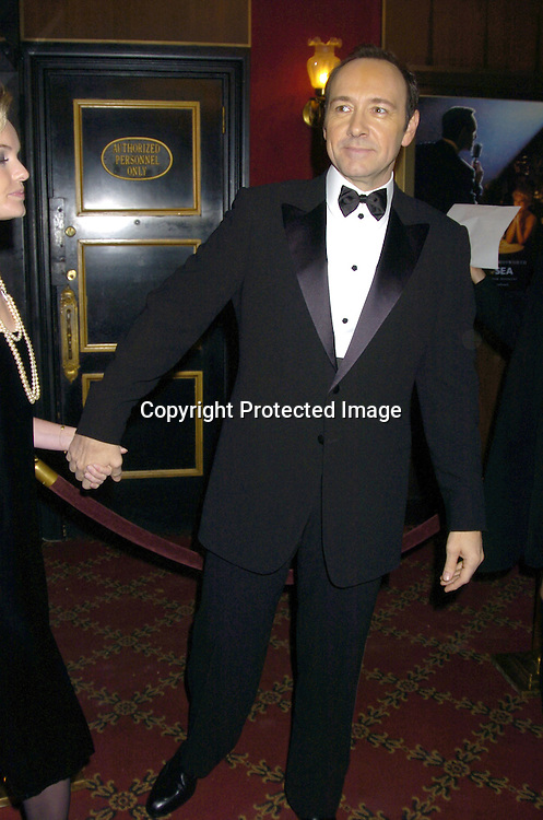 "Kevin Spacey..at The New York Premiere of ""Beyond The Sea"" on ..December 8, 2004 at the Ziegfeld Theatre. ..Photo by Robin Platzer, Twin Images"