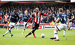 Leon Clarke of Sheffield Utd in action during the championship match at the Bramall Lane Stadium, Sheffield. Picture date 14th April 2018. Picture credit should read: Simon Bellis/Sportimage