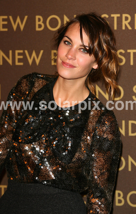**ALL ROUND PICTURES FROM SOLARPIX.COM**.**WORLDWIDE SYNDICATION RIGHTS**.arrivals at the Louis Vuitton Bond Street Maison After Party in London, UK. 25 May 2010..This pic: Alexa Chung..JOB REF: 11314 LNJ     DATE: 25_05_2010.**MUST CREDIT SOLARPIX.COM OR DOUBLE FEE WILL BE CHARGED**.**MUST NOTIFY SOLARPIX OF ONLINE USAGE**.**CALL US ON: +34 952 811 768 or LOW RATE FROM UK 0844 617 7637**