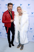 LOS ANGELES - AUG 19:  Aaron Carter, Adam Lambert at the Project Angelfood 2017 Angel Awards Gala at the Project Angelfood on August 19, 2017 in Los Angeles, CA