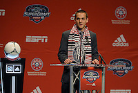 Casey Townsend 5th pick of first round by Chivas USA... The 2012 MLS Superdraft was held on January 12, 2012 at The Kansas City Convention Center, Kansas City, MO.