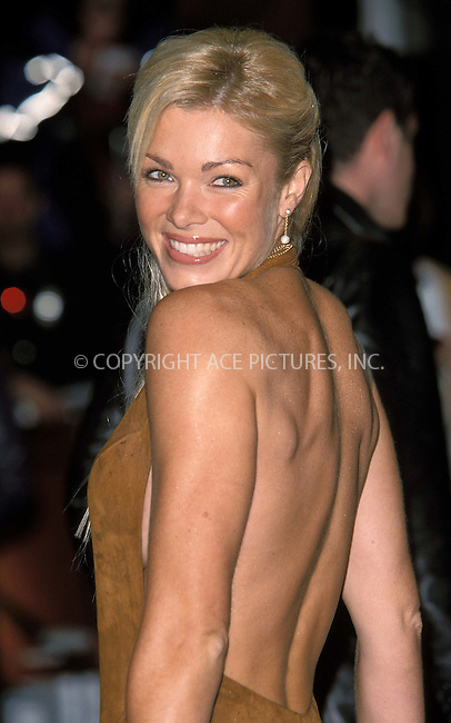 *** USA RIGHTS ONLY***    ..Nell McAndrew at the Spiderman film premiere at Odeon, Leicester Square Theater in Longon. June 5, 2002.  REF: PPSA2059/11729. Please byline: NY Photo Press.   ..*PAY-PER-USE*      ....NY Photo Press:  ..phone (646) 267-6913;   ..e-mail: info@nyphotopress.com