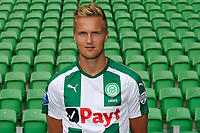 GRONINGEN - Voetbal, Presentatie FC Groningen , seizoen 2017-2018, 11-09-2017,   FC Groningen speler Kasper Larsen